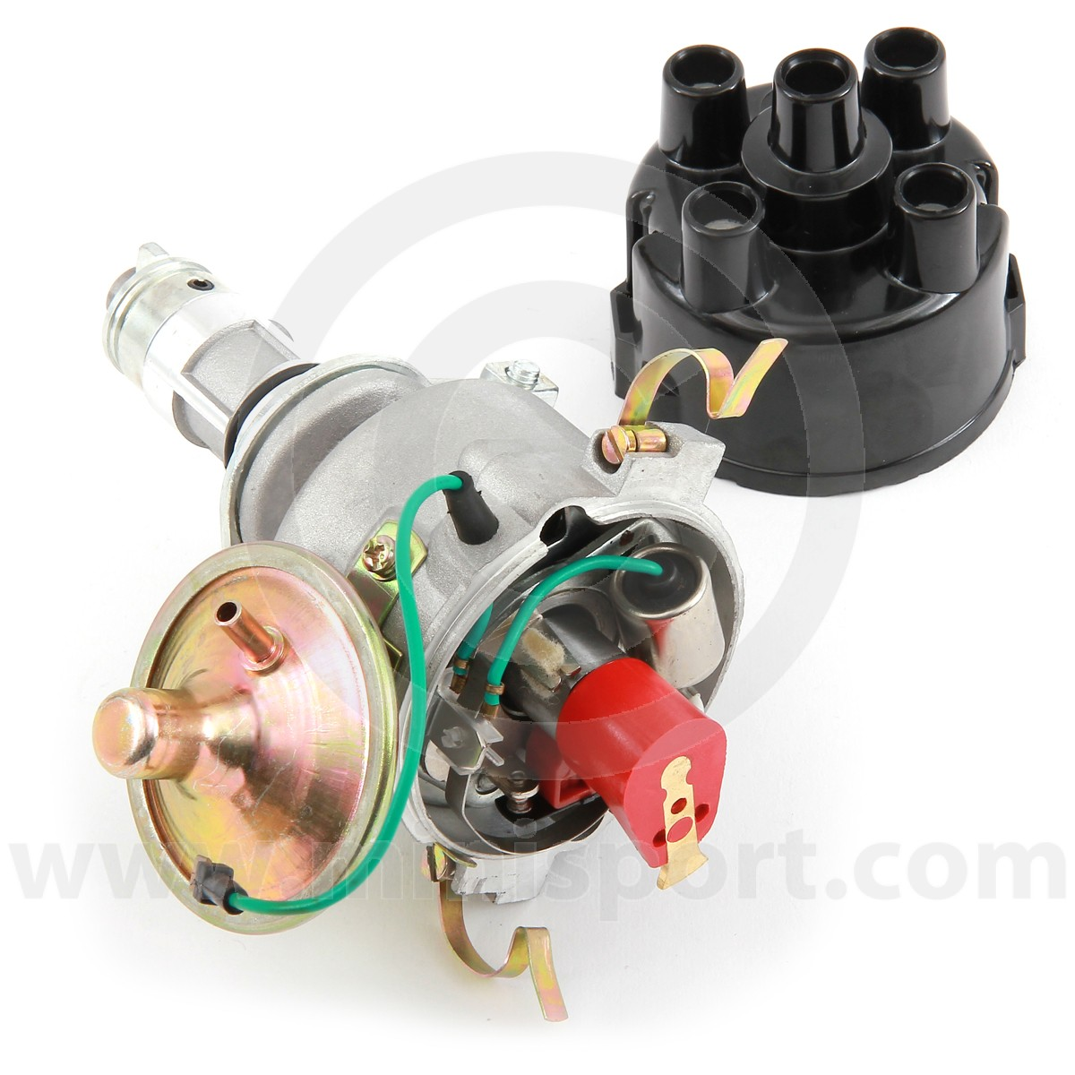 41570ms Mini 45d4 Distributor Austin Wiring Diagram Lucas Type With Points Ignition For Classic