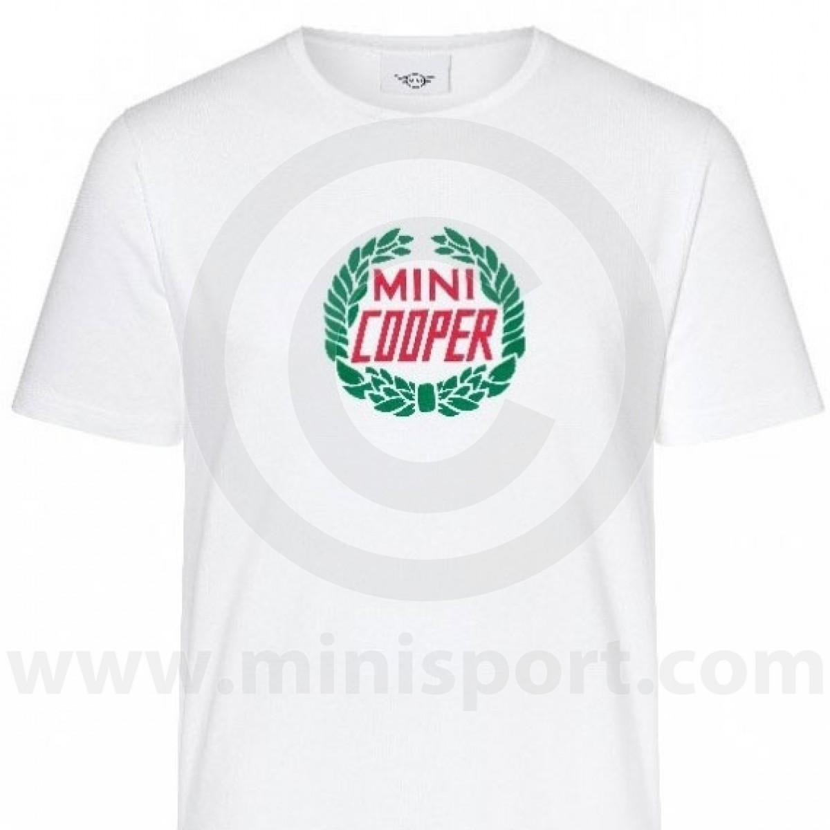 Mini Cooper Laurel T Shirt Mini Clothing Minisportcom Mini Sport