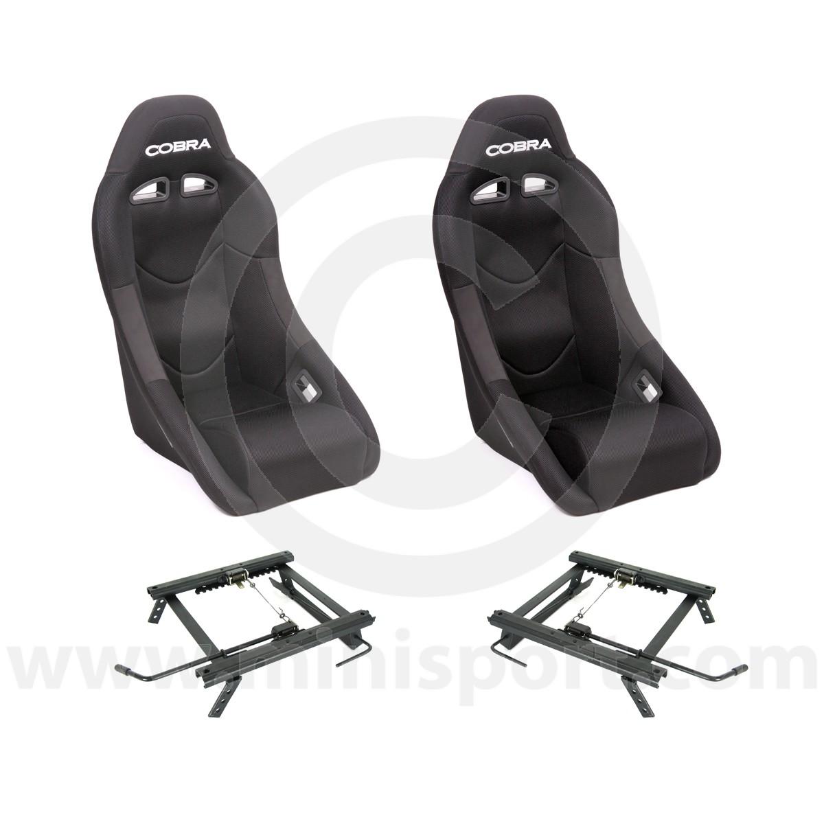 Cobra Clubman Seat Package - Black/Black Centre