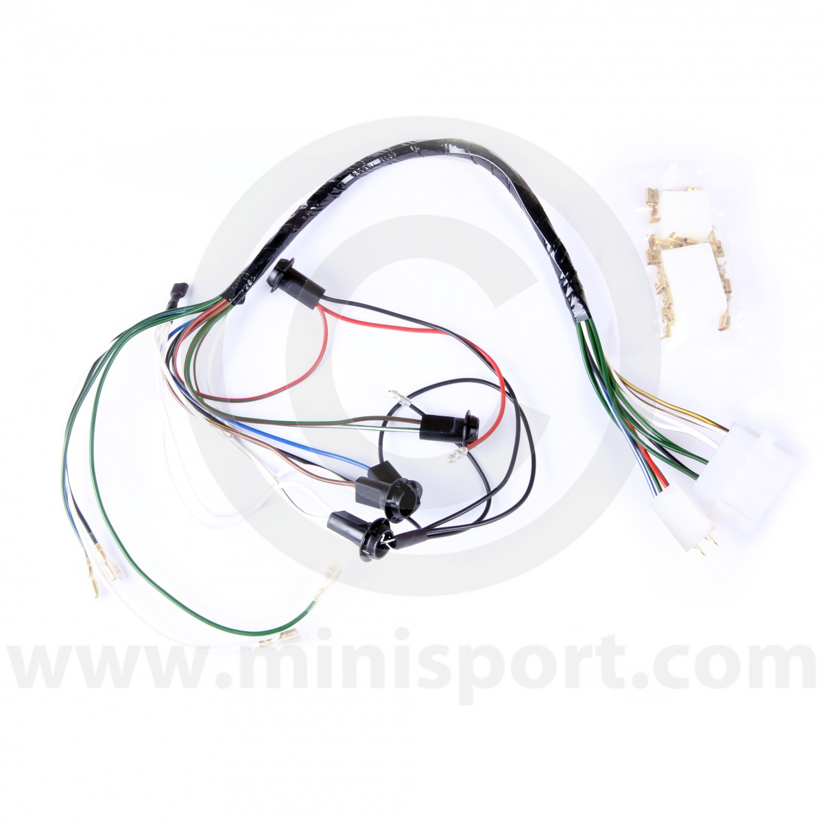 lucees025 mini dash conversion wiring loom minisport com mini rh minisport com mini wiring loom problems mini wiring loom replacement