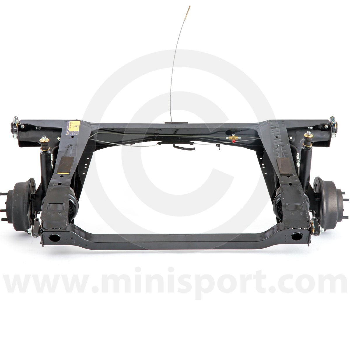 Hmp241002 Mini Subframe Assembly Suspension 1275 Gt With Alternator And Rocker Type Switches Genuine Rear Fully Assembled Ready To Fit