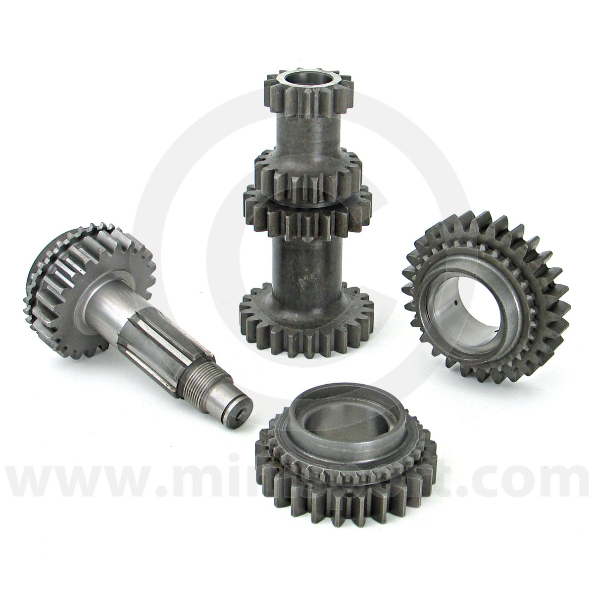 Ms3371 Mini Straight Cut Gear Kit Gearbox Sport 1275 Gt With Alternator And Rocker Type Switches 3 Synchro