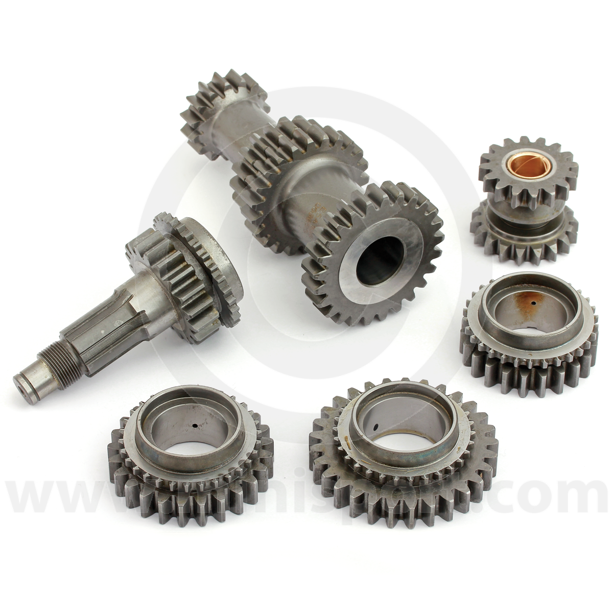 Ms4014ralt Mini Straight Cut Gear Kit Gearbox 1275 Gt With Alternator And Rocker Type Switches Quaife Rod Close Ratio