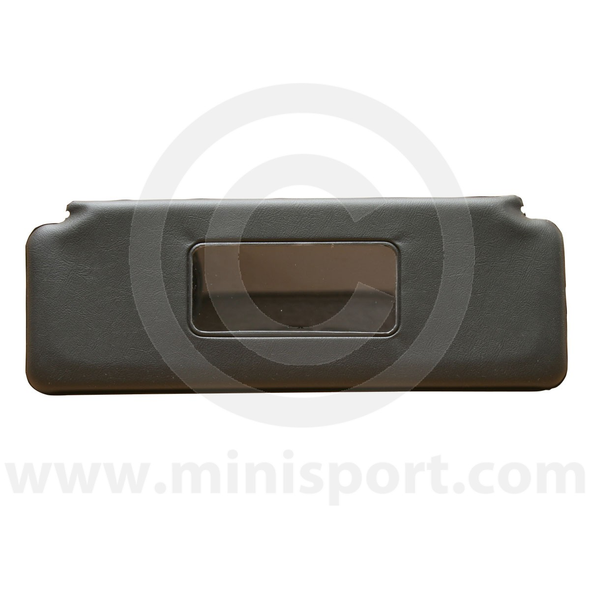 SV2017A Classic Mini sun visor in black with mirror 03db5b5d115
