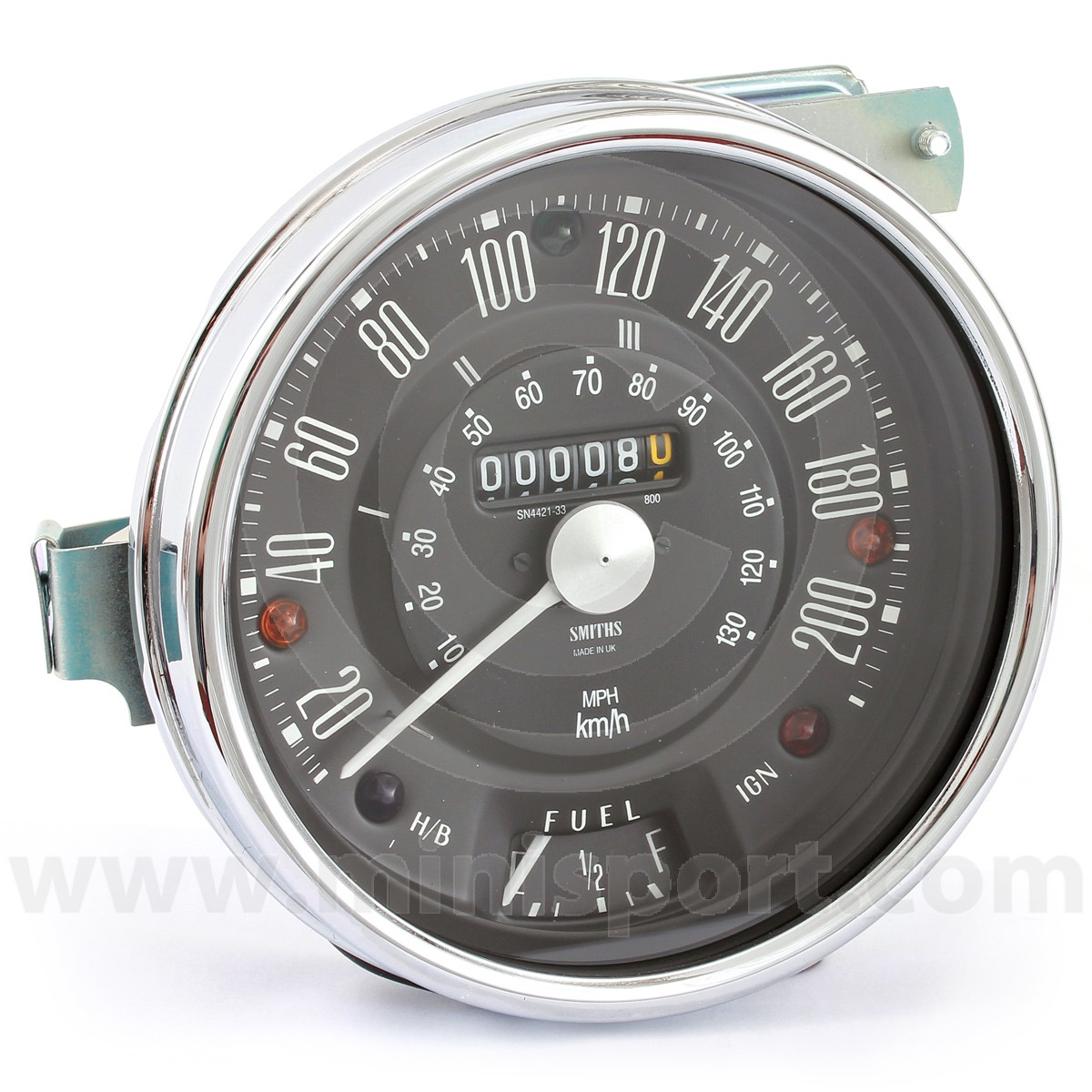 SN4421-33B - Smiths Speedo 200Kph | Classic Mini Parts & Spares Mini