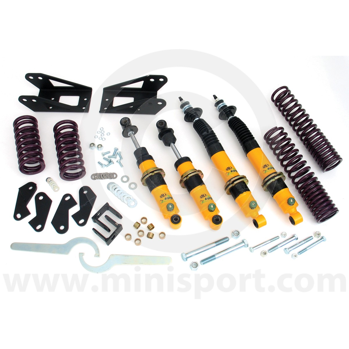 Rsx519 Mini Spax Coil Over Conversion Kit Sport 1275 Gt With Alternator And Rocker Type Switches Sparsx519 Adjustable