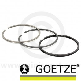"Goetze piston rings to suit Mini 1275cc 10:1 high compression pistons 0.020"" size"