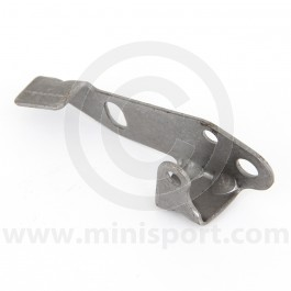 Tensioner bracket for the Simplex timing chain tensioner pad Mini A plus models.