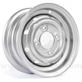 "Mini Cooper S Steel Wheel in Silver - 4.5"" x 10"""