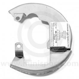 """40-10-11 Left hand Mini Cooper S 7.5"""" disc brake cover"""
