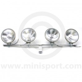 Works Mini Lamp Bar Kit in Stainless Steel