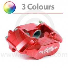 "Red 8.4"" Mini Sport Mini 4 Pot Alloy Calipers"