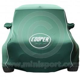 Luxury Cooper Mini Car Cover & Mirror Pockets