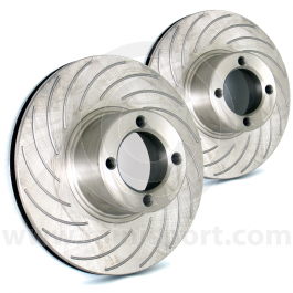 """NAM6450G/AC 8.4"""" grooved vented brake discs for Mini sport 8.4"""" vented calipers"""