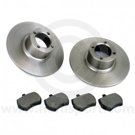 """GBD90806KIT Standard replacement 8.4"""" front brake kit  to suit all Minis 1984 onwards with 12"""" wheels."""