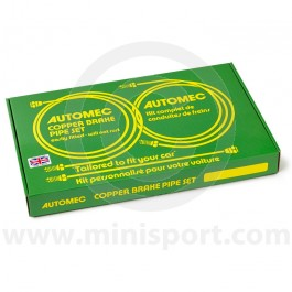 Brake Line Set Mini LHD to 69 Commercial