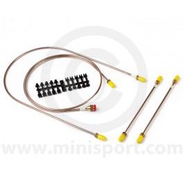 Brake Line Set Mini Moke LHD 1964 to 1968