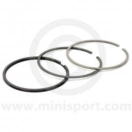 "Goetze piston rings to suit Mini 998cc press fit, flat top type pistons 0.040"" size"