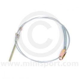 Handbrake Cable - Pre '76 Mini Saloon - dry suspension