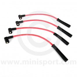 Red - 7mm Silicone Spark Plug Lead Set 97-01