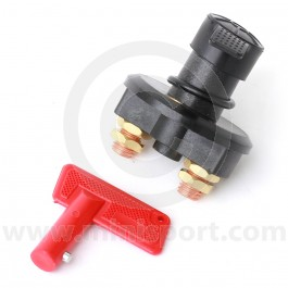 Battery Cut-Off Switch with Cover and Switch Key