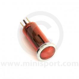 Small Warning Light - Red lens
