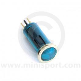 Small Warning Light - Blue lens