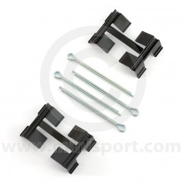 """LX0033 Brake pad fitting kit to suit the 2 pot brake calipers on Mini models 1984on fitted with 8.4"""" brake discs."""