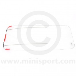 Heated Front Windscreen Clear - Works Mini style