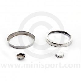 MSA0212 Mini Eyeball Air Vent Metal Cover Set