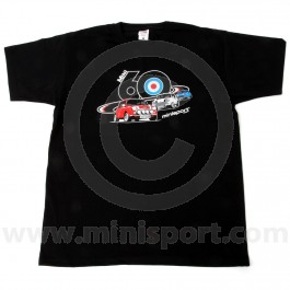 Black 3 Minis T Shirt - Mini 60
