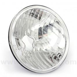 """Mini 7"""" Headlamp Crystal Clear Lens"""