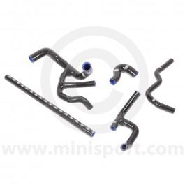 SAMTCS-187C-BLK Mini Silicone Hose Kit - SPi - Black