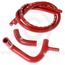 Samco Silicone Hose Kit - Clubman 1098 - Red