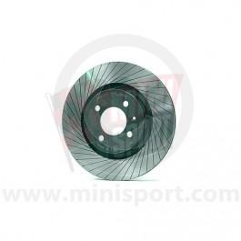 "8.4"" Tarox Brake Discs - G88 Grooved - Mini '84on"