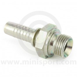 Oil Cooler Fittings - 1/2 BSP - straight - male