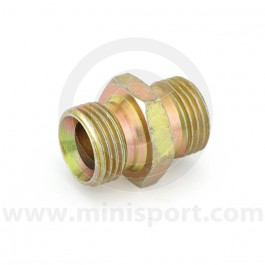 Oil Cooler Fittings - 1/2 BSP x 1/2BSP threaded male-male