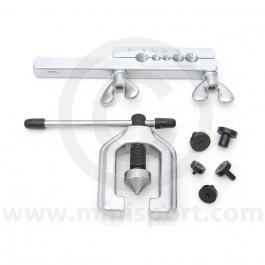 Draper 7 Piece Brake Pipe Flaring Tool Kit