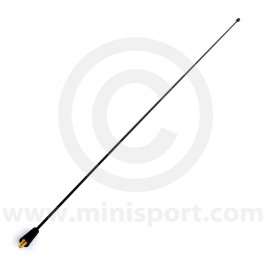 XUJ000060 Replacement roof aerial mast for Mini MPi models, which screws into the aerial mount (XUF000020) on the front of the roof.
