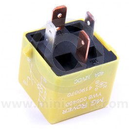 Relay Yellow type 4 pin YWB10012
