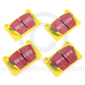 Yellow Stuff Pad Set - Mini Sport Alloy Calipers