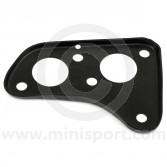 Single line brake master cylinder and engine steady bar mounting plate, that fits to the bulkhead.