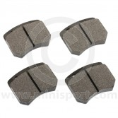 Carbon Metallic Pad Set - Mini Cooper S