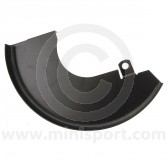 "21A2614 Right side lower brake disc shield for Mini models 1984 to 2001 fitted with the 8.4"" brake discs (GDB90806)"