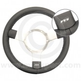 Classic Mini Traditional steering wheel 300mm - Black Leather by Mountney