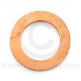"3h550 Copper washer for 7/16"" clutch and brake pipe unions."