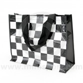 Chequered Shopper Bag