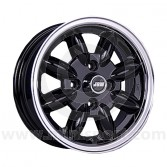 5 x 13 Minilight Wheel - Black/Polished Rim