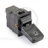 Mini headlight toggle switch 3 round pin connector
