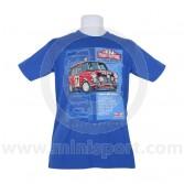 Paddy Hopkirk 33 EJB T Shirt - Royal Blue Medium